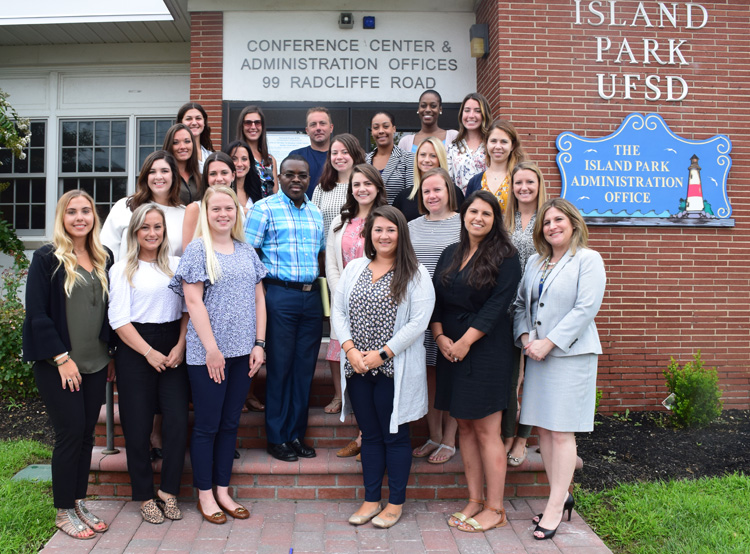 Island Park Welcomes New Staff Members