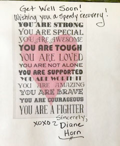 From Diane