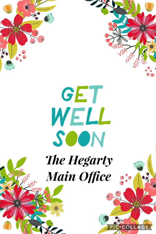 From Hegarty Main Office
