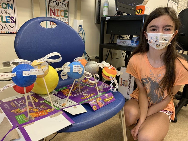 These 5th Grade projects are out of this world!