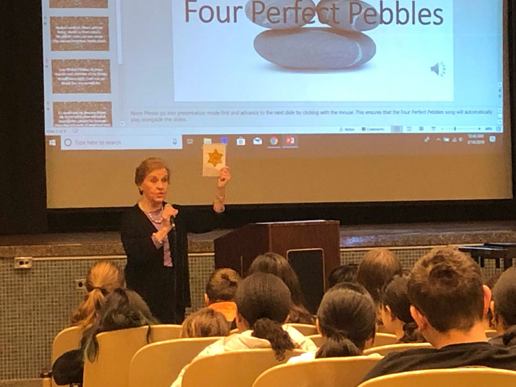 Lincoln Orens Students Hear Impactful Story