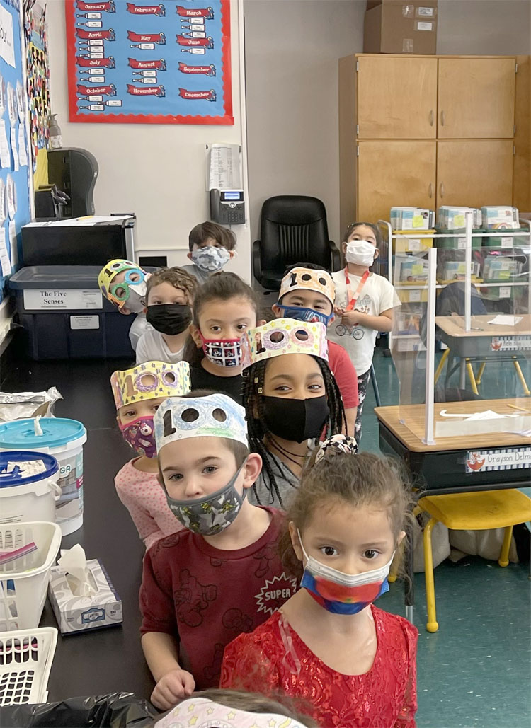 Celebrating the 100th Day of School at FXH!