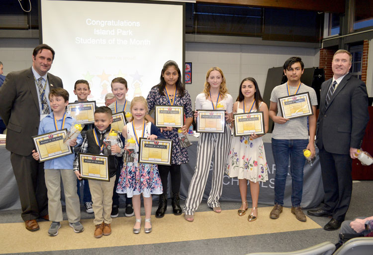 Island Park honors students and spotlights improvement projects