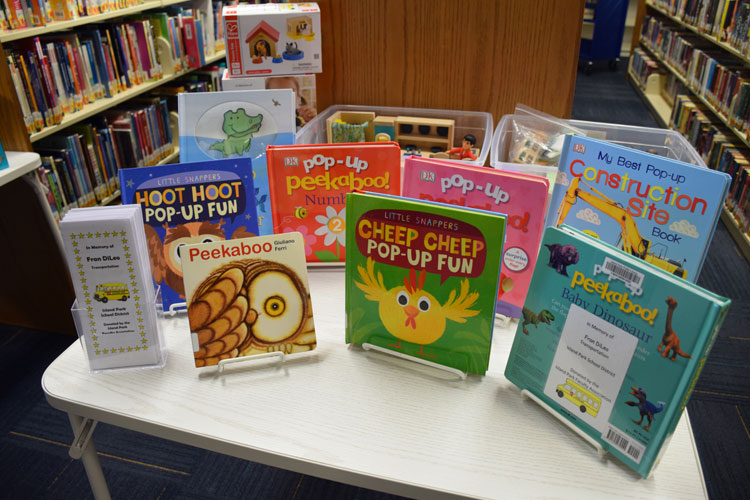 Island Park Staff Members Honored Through Library Resources