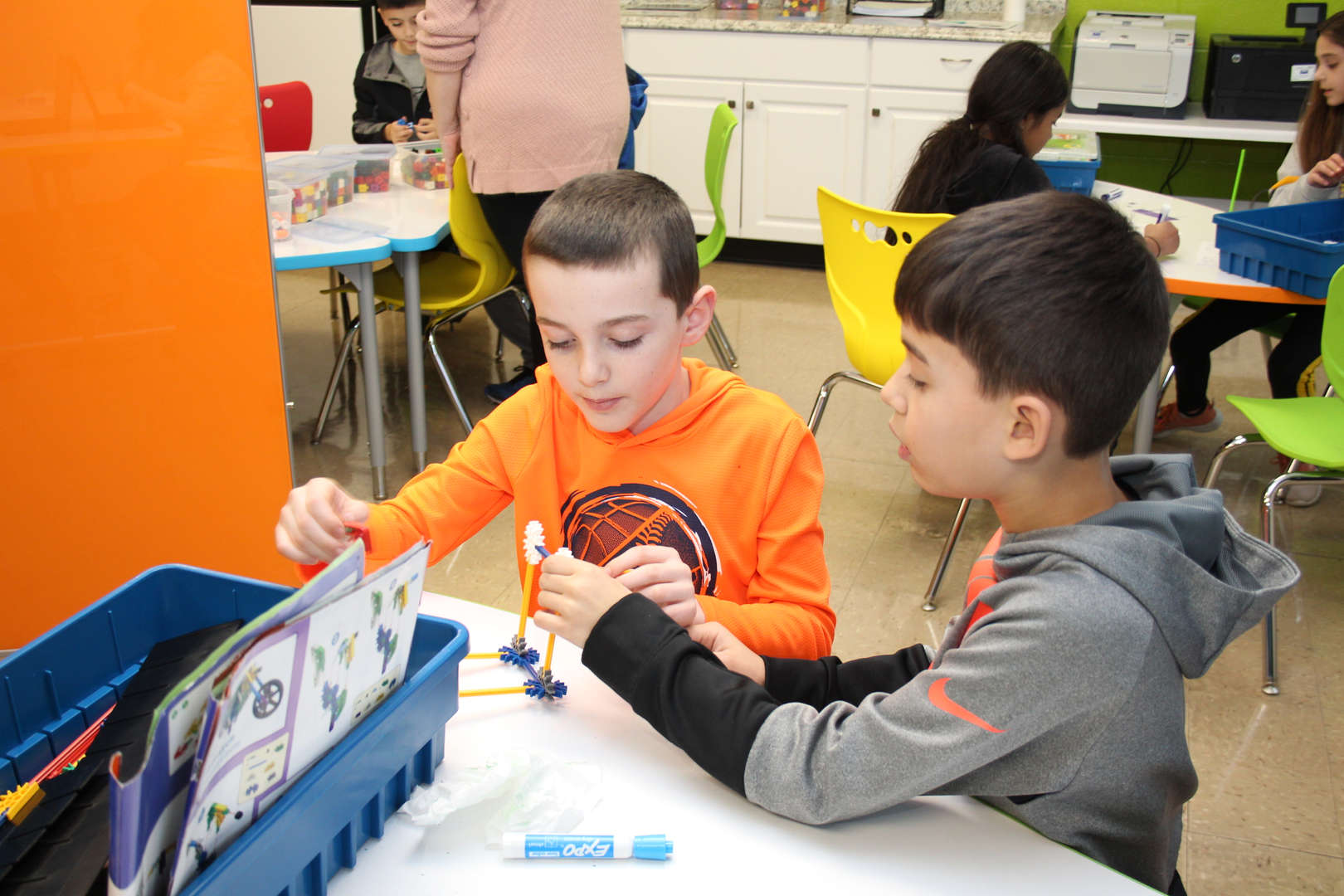 Students in the elementary collaboratory