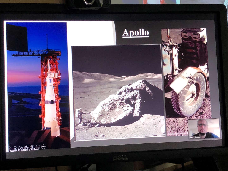 Apollo space missions