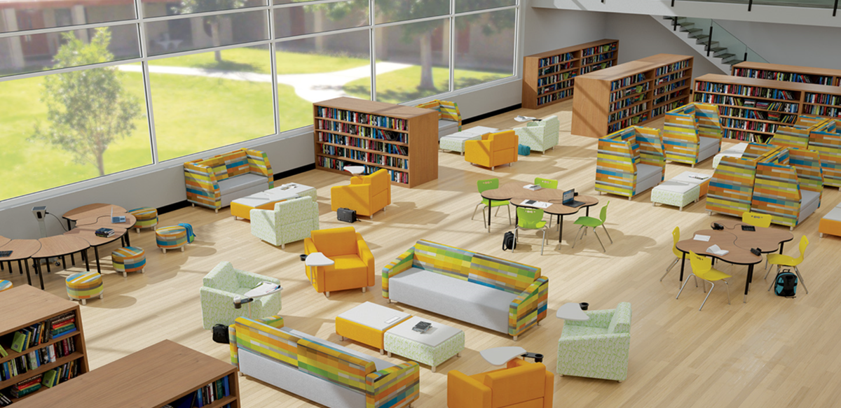 Example of Flexible Learning Space Layout.