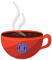 Carmel Cafe coffee cup