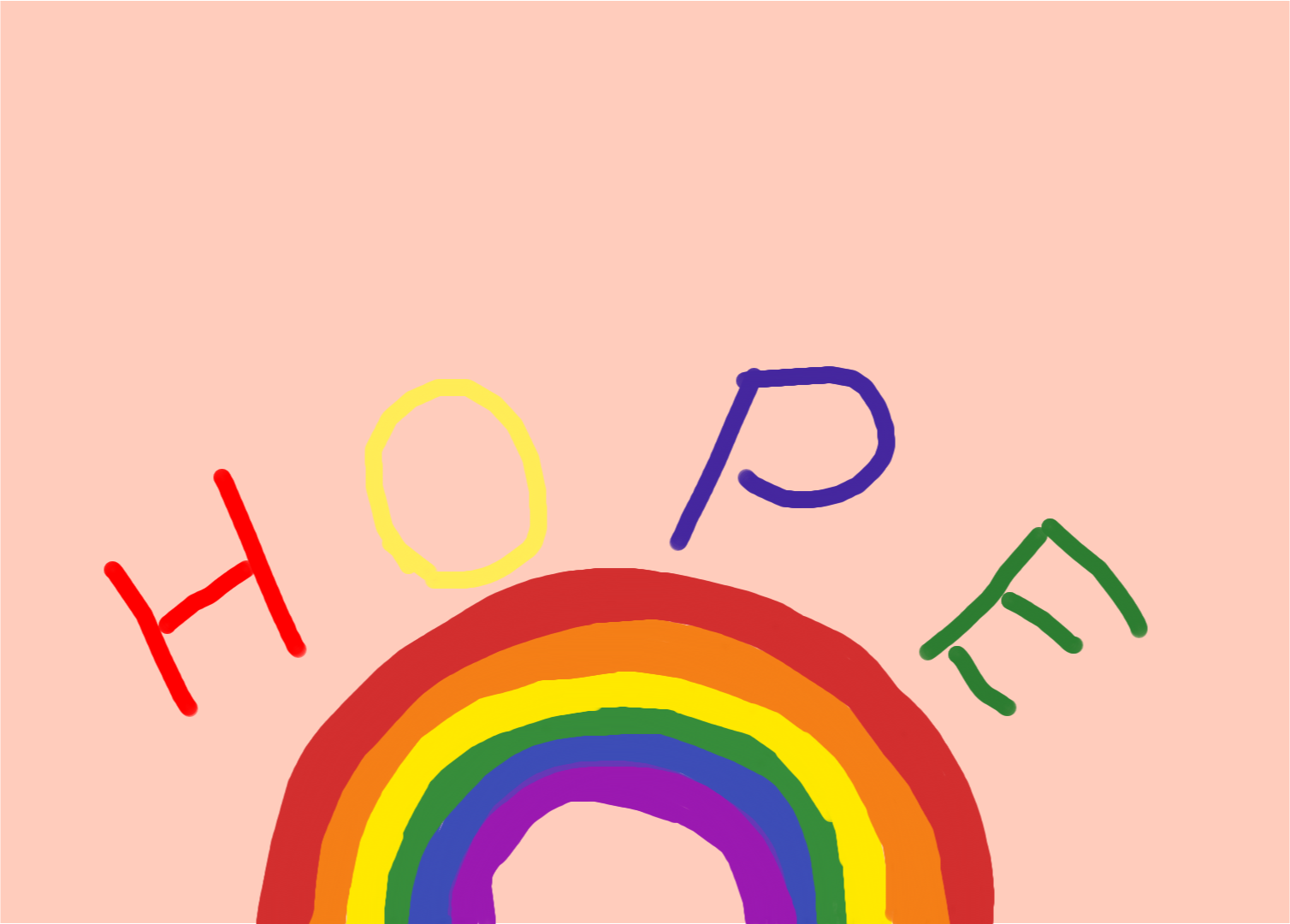 Ryan H rainbow of hope