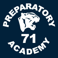 Middle school logo 71 panther