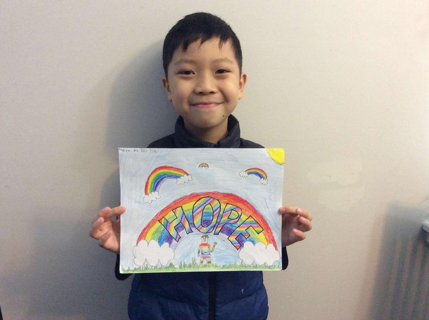 Andrew Wu 3rd grade