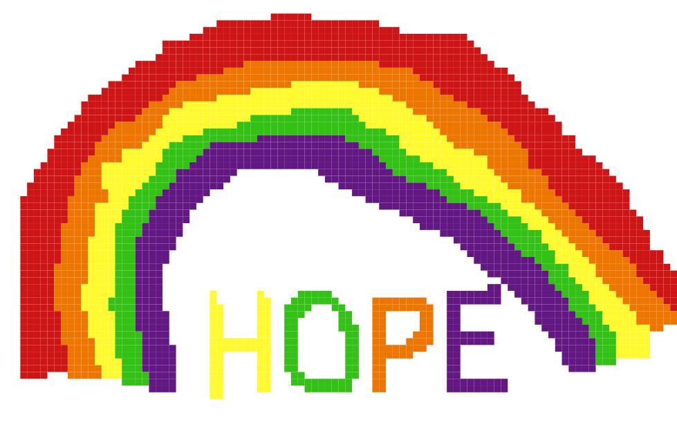 Adrian 2 302 shares a rainbow