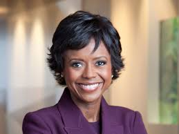 Mellody Hobson (born April 3, 1969) is an American businesswoman who is the chairwoman of Starbucks Corporation. She was the president and co-CEO of Ariel Investments.[1] She is the former chairwoman of DreamWorks Animation,[2] having stepped down after negotiating the acquisition of DreamWorks Animation SKG, Inc., by NBCUniversal in August, 2016. In 2017, she became the first African-American woman to head The Economic Club of Chicago.[3] She was also named to chair the board of directors of Starbucks in 2021, making her one of the highest profile African American corporate directors.[4]