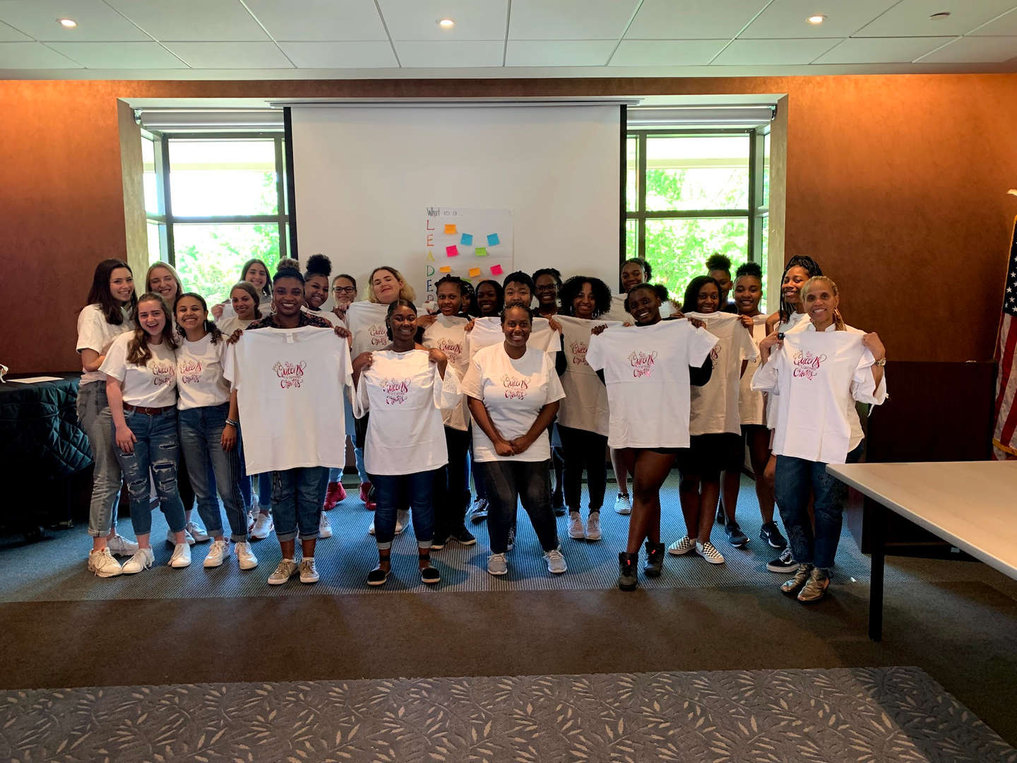 NHS Girls PLUS Conference at Nyack Library