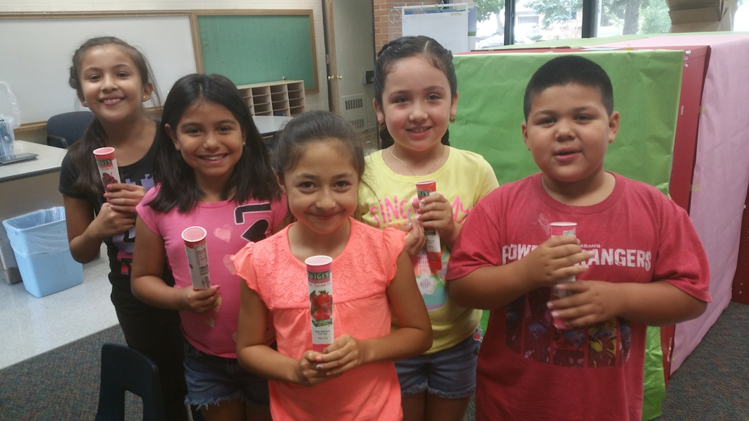 Students celebrate their successful completion of Summer Academy!