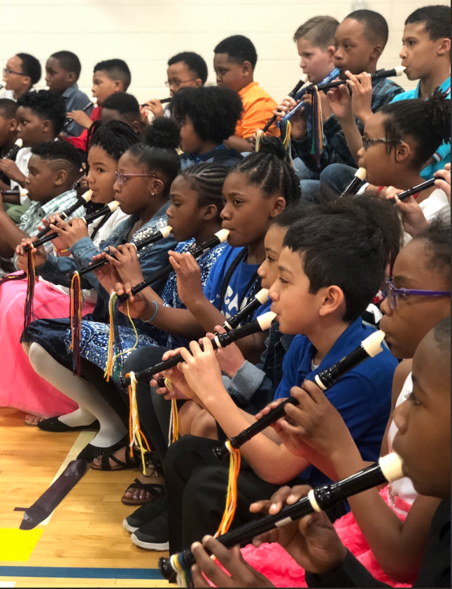 Another wonderful 4th and 5th-grade band concert at Heather Hill.