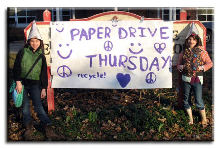 Green Team paper drive