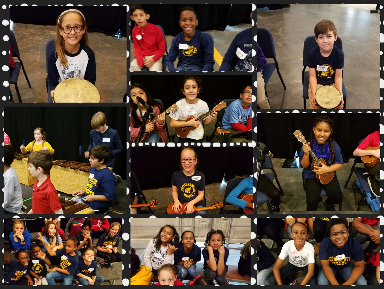Students attend ILMEA District 1 Elementary Festival