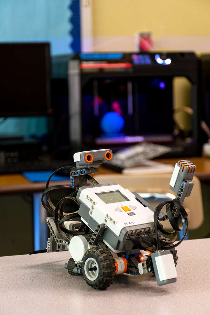 a piece of instructional technology robotics equipment
