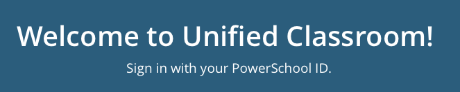 Unified Classroom Link