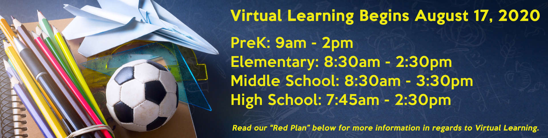 Virtual Learning Start Times