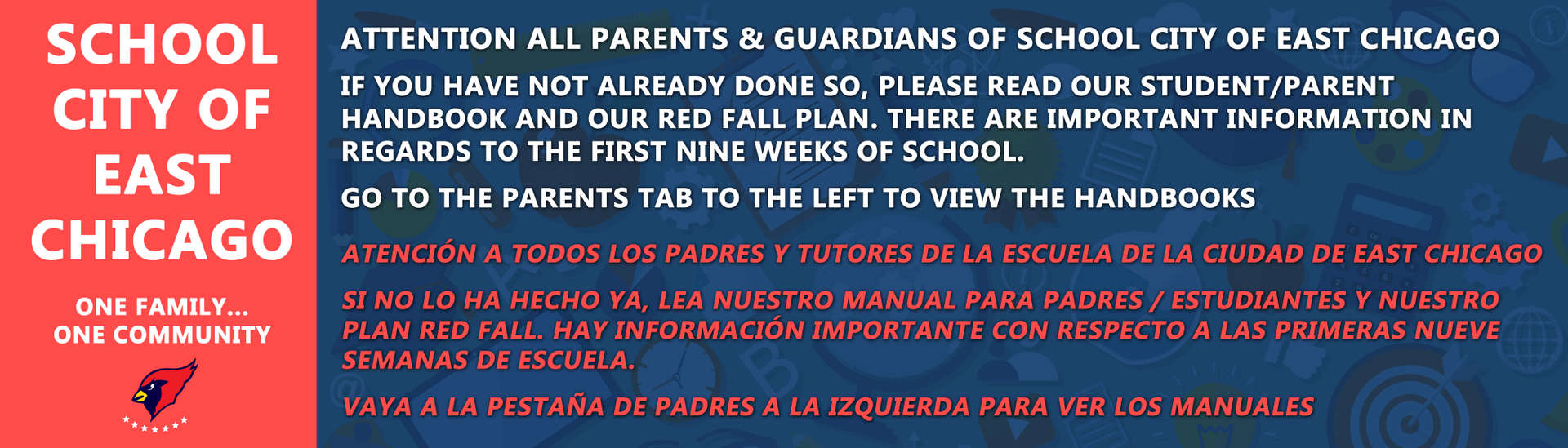Please, read our Student Teacher Handbook if you have not already done so