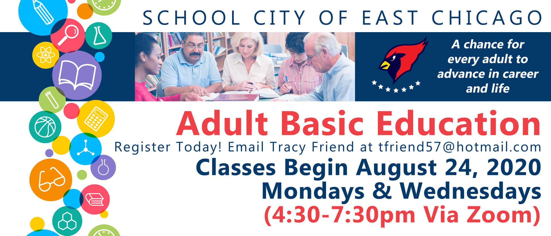 Adult basic education classes