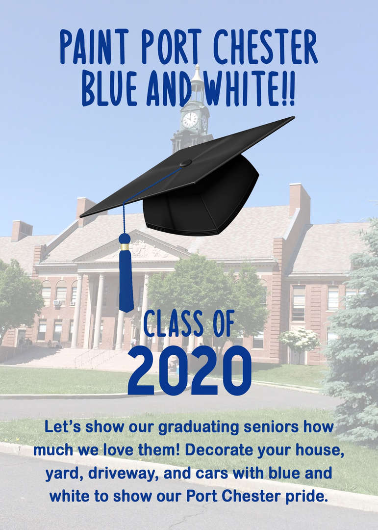 Flyer in support of the Class of 2020