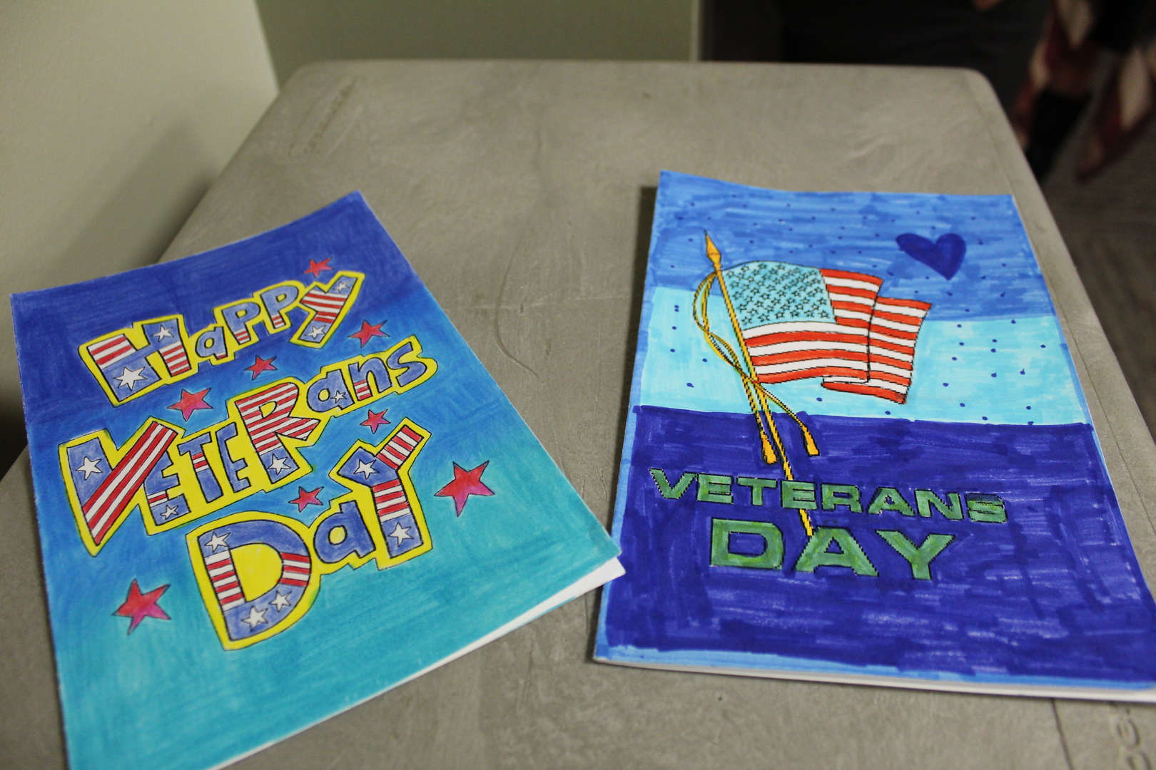 Hand made Veterans Day Cards
