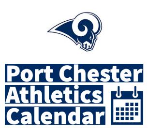 Port Chester Athletics Calendar