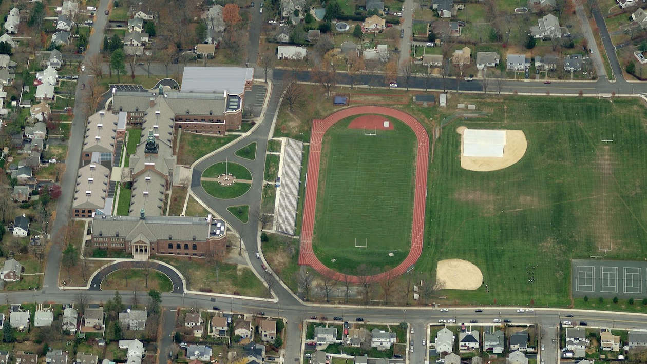 aerial view of pchs