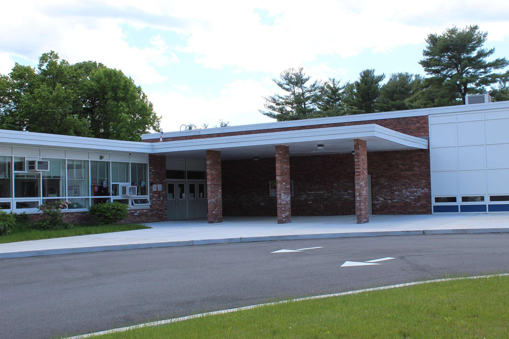 Outside of King Street Elementary School building