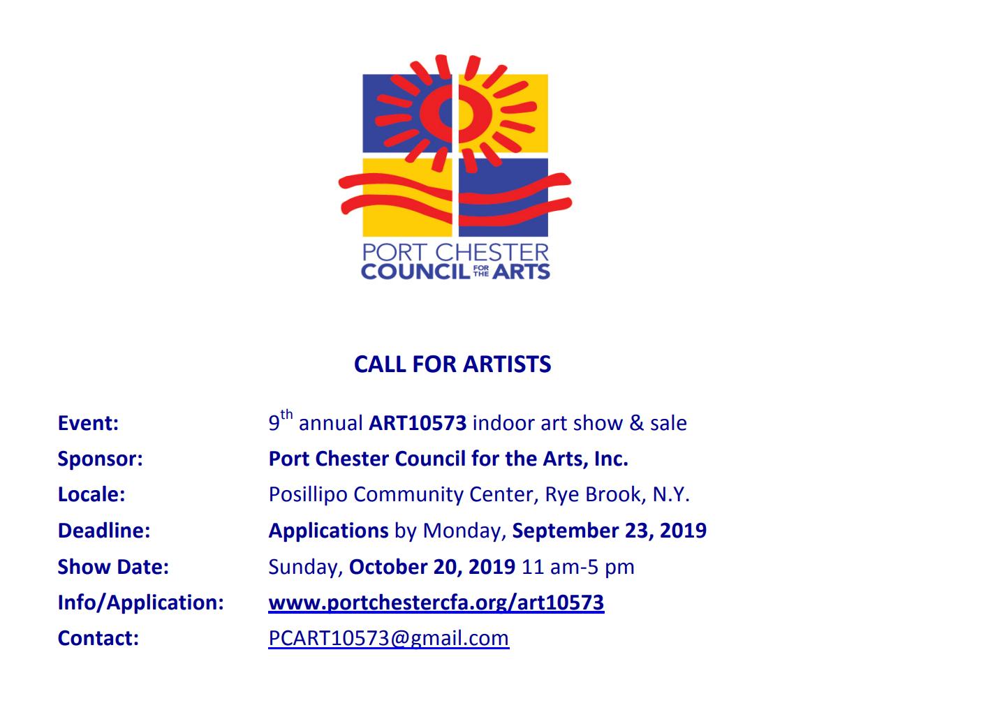 Art show & sale flyer