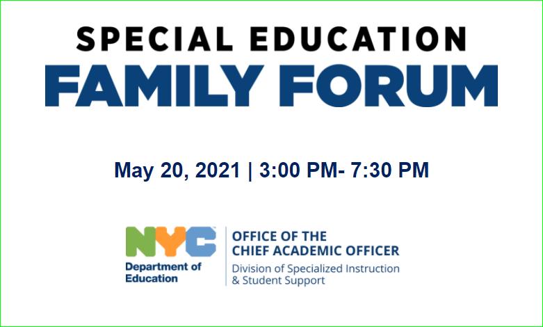 Special Education Forum