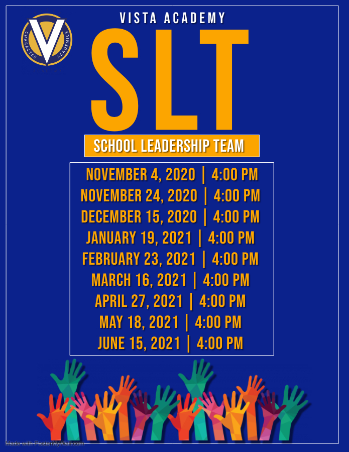 student leadership team meeting dates