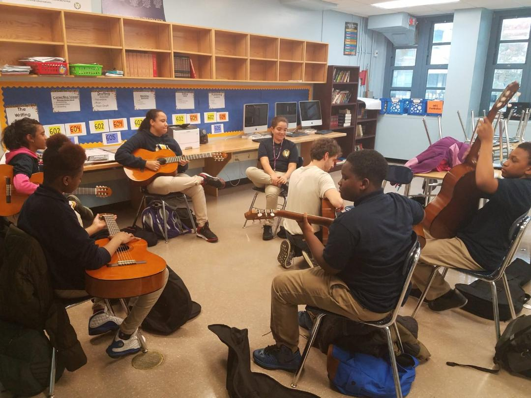 Scholar at Vista Explore Music in connection with Brooklyn Conservatory of Music