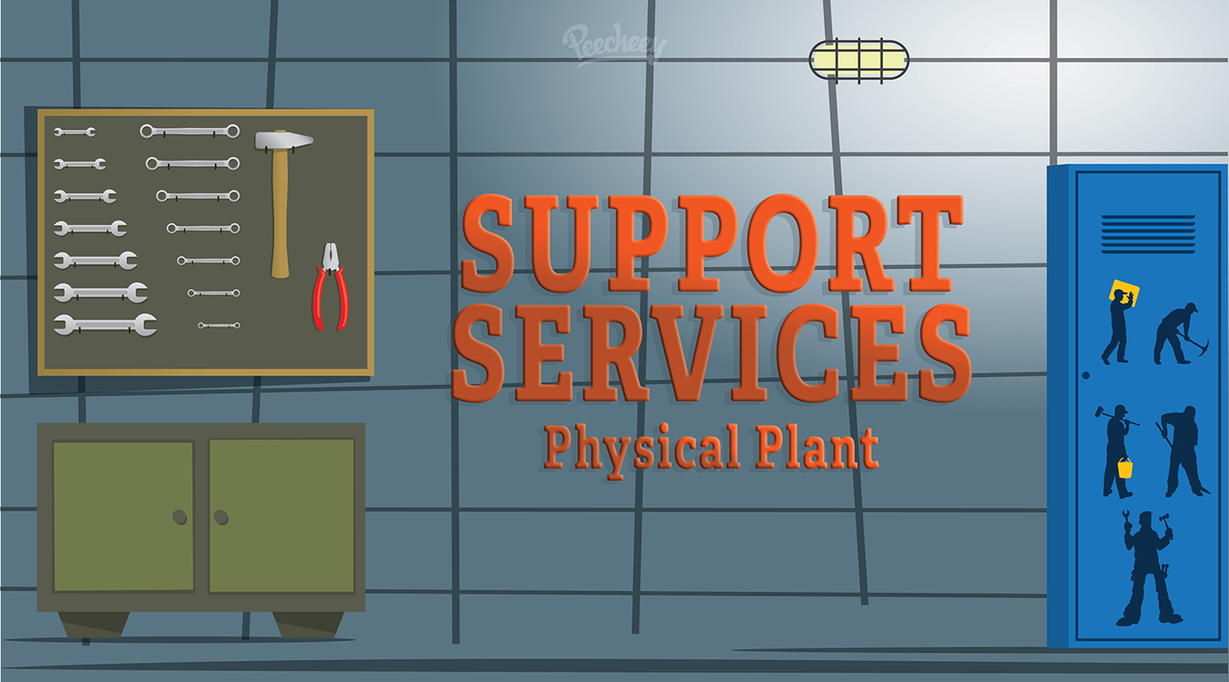 Support Services -Physical Plant banner