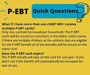 P-EBT Update Information