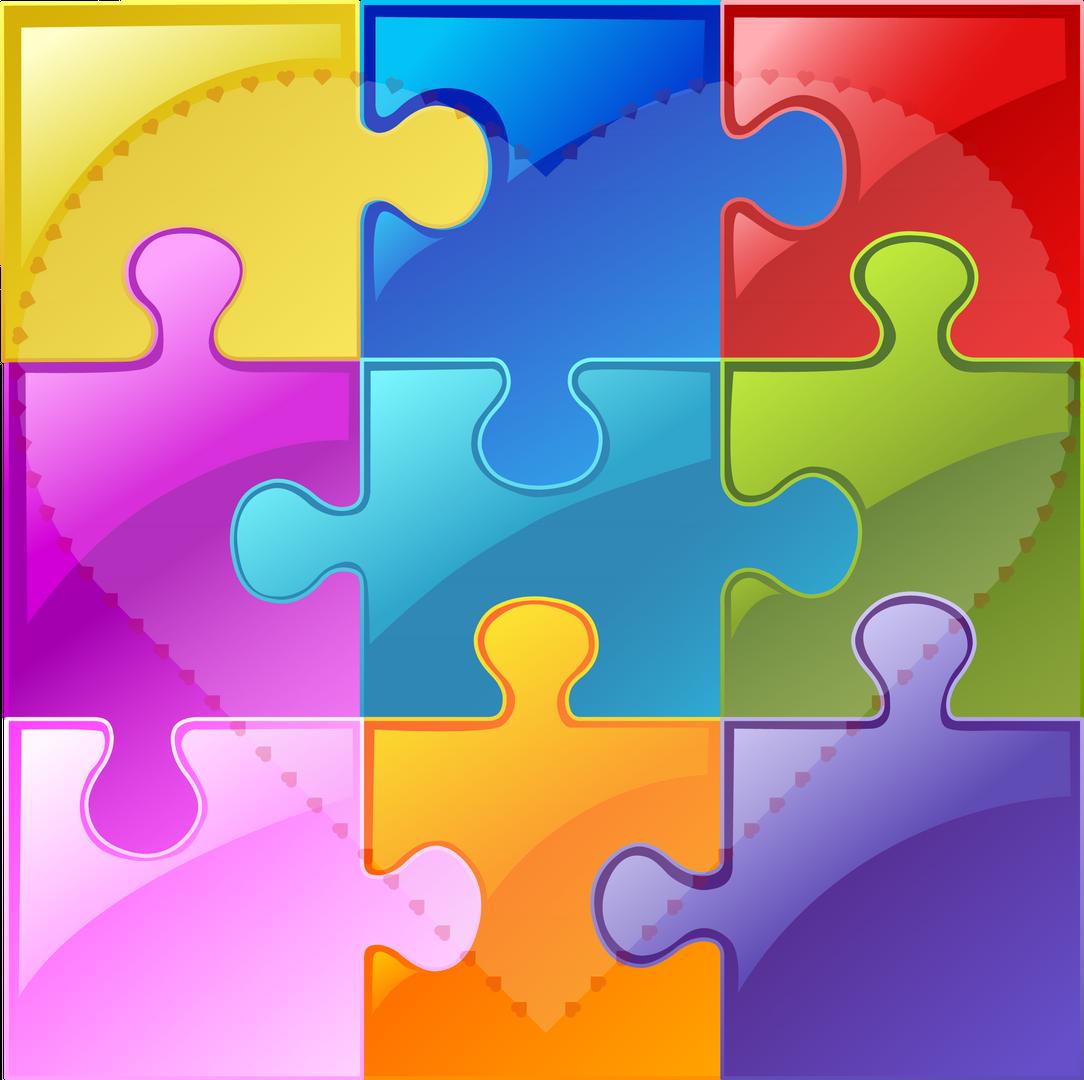 Color Puzzle Hart Autims img