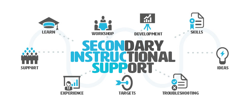Secondary Instructional Support Banner