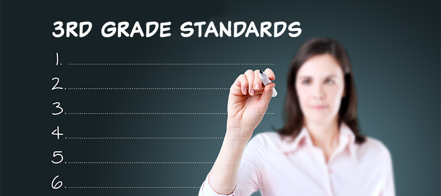 3rd Grade Standards banner