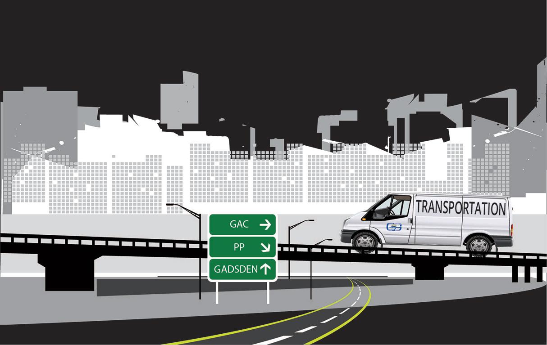Transportation Dept. banner