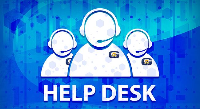 GISD Help Desk Numbers banner