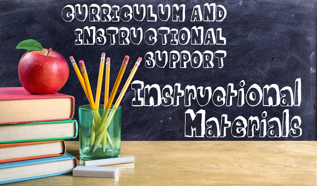 Instructional Materials banner