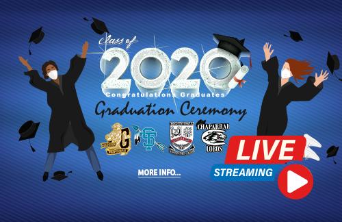 Gadsden ISD Graduation Ceremony - All High Schools - live stream banner