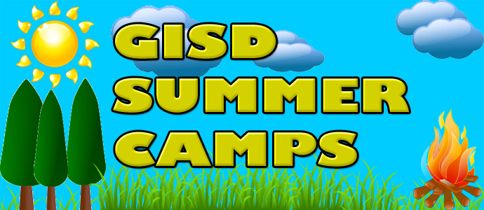 GISD summer camps banner