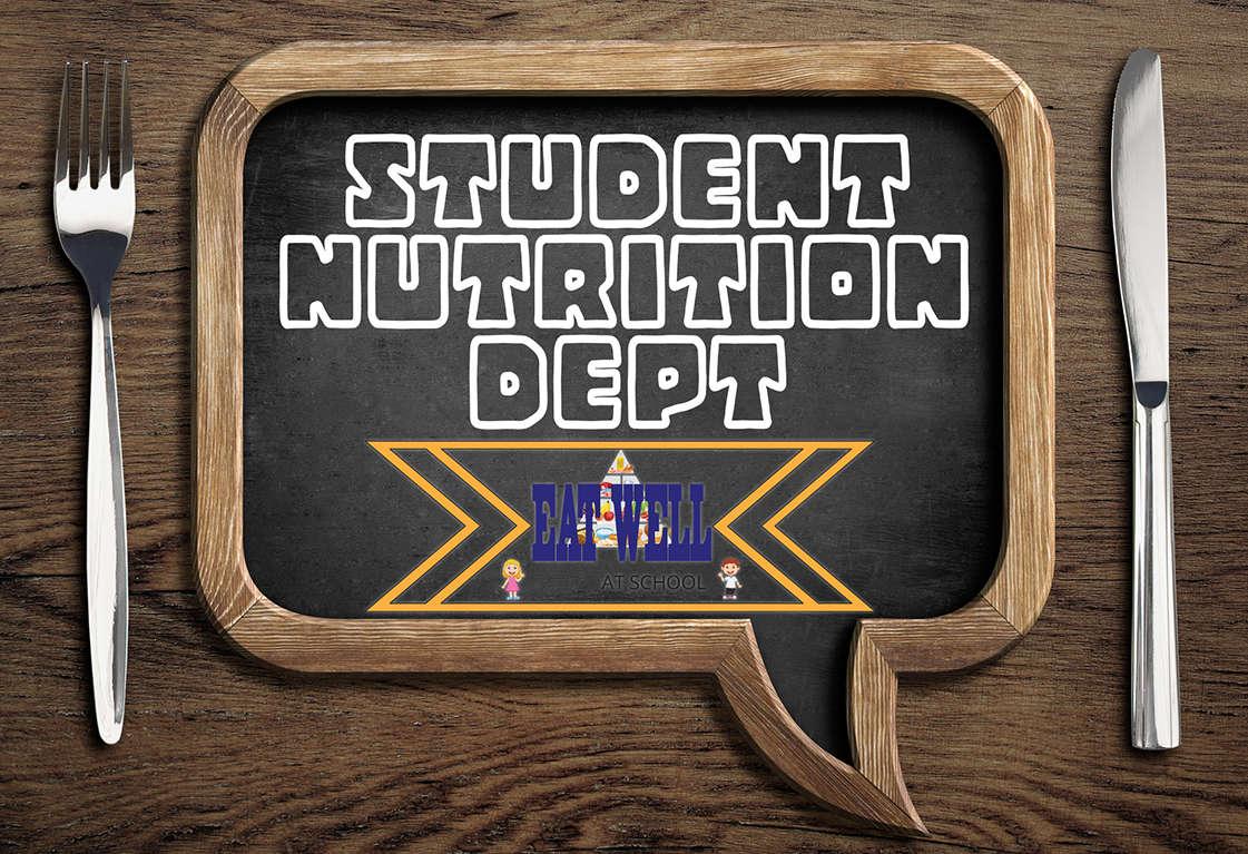 Student Nutrition Dept. banner
