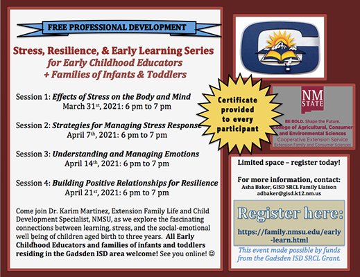 Early Childhood Learning Series