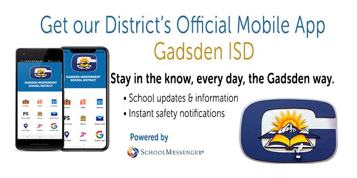 Gadsden ISD app banner-promotional