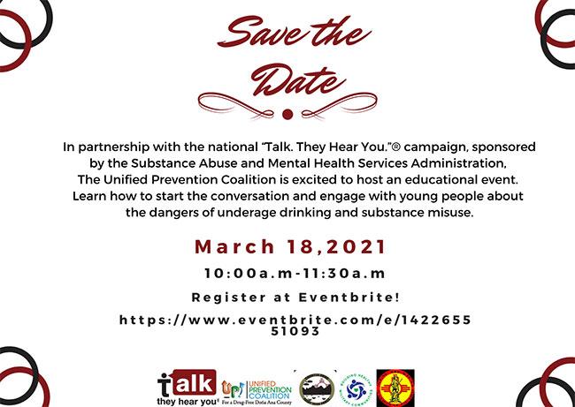Save the Date - Mental health seminar